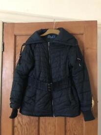 Women's black coat