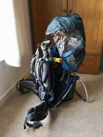 Deuter Child Carrier with sunshade and rain cover