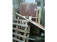 Free pallets and wood!!