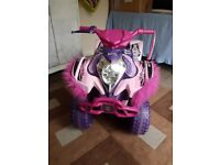 Kids Ride on - Quad Bike Good Condition 12v
