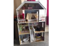 4 Story Dolls House, Furniture and Characters
