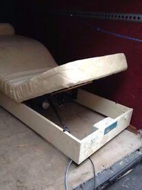 Adjustamatic double bed