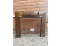 30's Rosewood Fire Surround