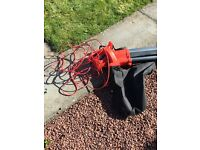 Corded lawnblower/vac