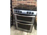 Cooker Dual Fuel Freestanding Double Oven
