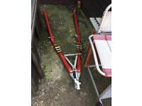 A- frame towing dolly