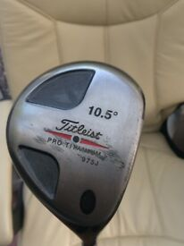 TITLEIST PRO 975J DRIVER. GRAPHITE SHAFT. POSSIBLE P/X FOR A PING PUTTER