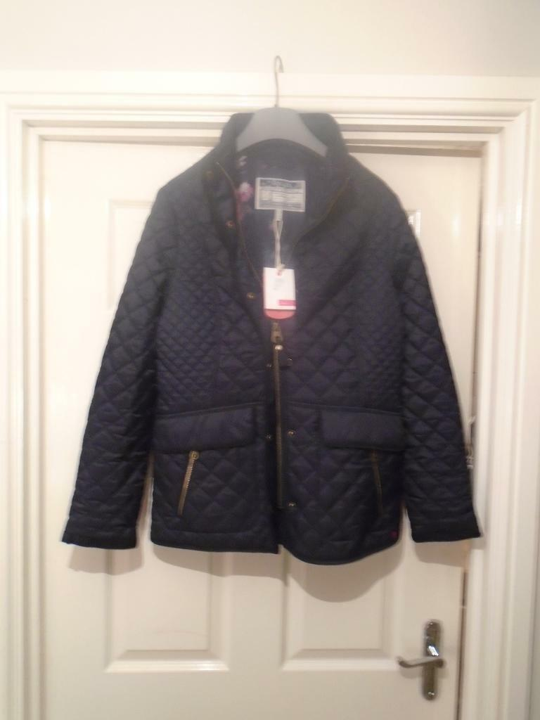BRAND NEW JOULES LADIES NEWDALE JACKET MARNAVY SIZE UK14