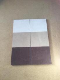 2 x wall art canvas