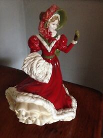 Royal Doulton pretty ladies figures