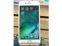 iPHONE 6S 16GB/SHOP WARRANTY/TRUSTED SHOP WITH RECEIPT/GOOD CONDITION/SILVER