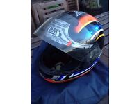 Full face integral motorcycle Helmet (brand LEM), size M - as new. In Bermondsey