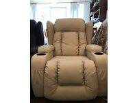 Electric Heat & Massage Recliner Chair