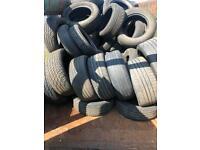 Free scrap tyres