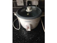 Cooks works rice cooker