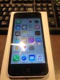 iPhone 5c in white 16g