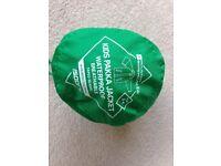 Brand new Mountain Warehouse Kids Waterproof Pakka jacket unisex green age 3-4