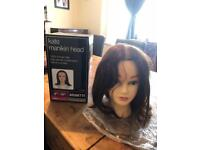 Katie hairdressing head