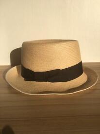 Panama hat.