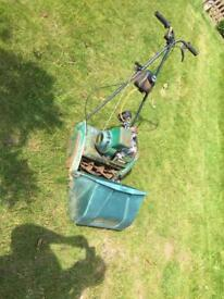 Suffolk punch 35s cylinder lawnmower with grass box