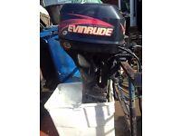 EVINRUDE 9.9HP 4STROKE OUTBOARD 2001