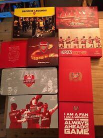 8 x Arsenal Membership Packs