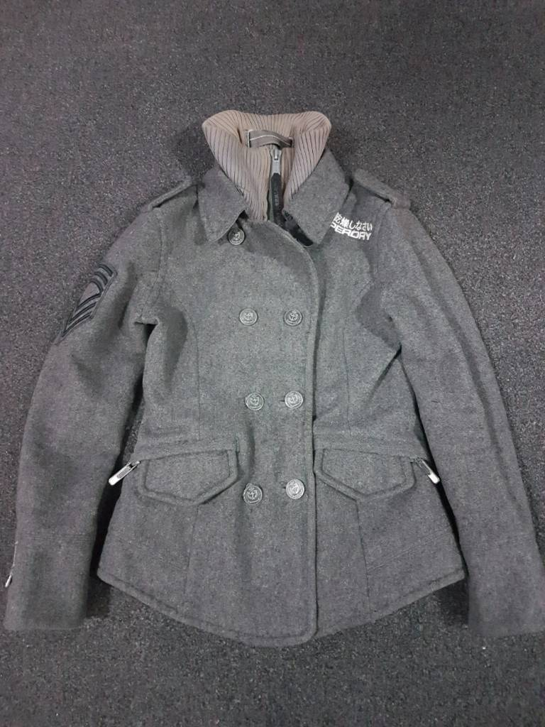 Superdry Military style coat. S.