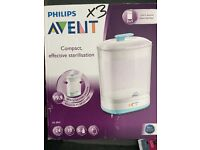 Avent 2 in 1 sterlizer