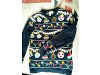 Mena primark Christmas jumper size M