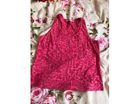 Kids pink vest