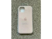 Genuine Apple iPhone 11 Pro Silicone Case Pink Sand - Brand New