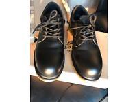 Dr Martins steel toe cap shoes black size 7