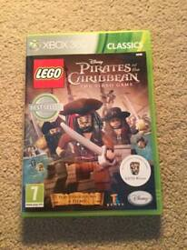Lego pirates of the Caribbean Xbox 360 game following the first 4 films