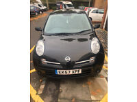 BLACK 2007 NISSAN MICRA - MOVING ABROAD NEXT WEEK VEHICLE MUST GO