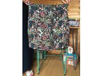 Brand New Topshop Skirt, Floral Pattern- UK size 12