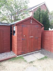 6 x 8 shed for sale