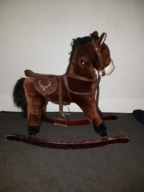 Childrens rocking horse