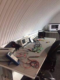 Hardware Maker Space for rent: all basic tools needed for hardware development!