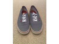 Men's Vans shoes.