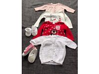 Baby Girl 3-6M Bundle WInter