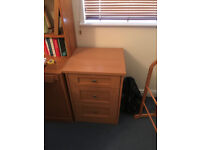 Two large bedside tables (or small chests of drawers!)