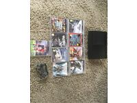 MAKE ME AN OFFER Slim black Really good condition PS3 with 9games!