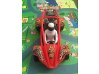 Large Red racing car toy