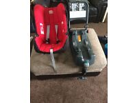 Britax infant car seat x2