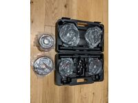 Men's Health Cast Iron Dumbbell Box Set and Extra Plates