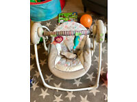 For Sale: Newborn/Infant/Toddler Swing (Ingenuity Cozy Kingdom)