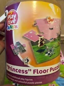 Wooden Princess floor puzzle