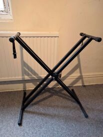Keyboard Stand - New - Double Braced Frame