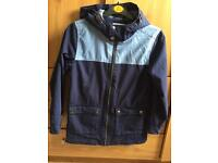 Boys summer navy blue coat jacket 9-10 years