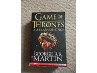 Used, Game of Thrones: A Clash of Kings book for sale  Somerset